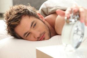 sleeping on metal bed frame